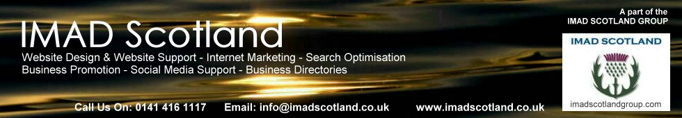 IMAD Scotland for Internet Marketing Services and Web Design services in Scotland